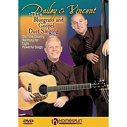 Homespun Dailey & Vincent Teach Bluegrass and Gospel Duet Singing (DVD) (642088)