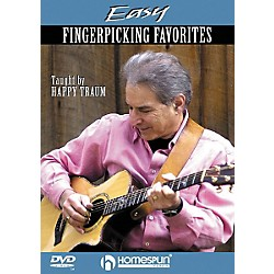 Homespun Easy Fingerpicking Favorites (DVD) (641712)