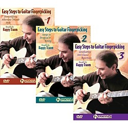 Homespun Easy Steps To Guitar Fingerpicking 1,2&3 (DVD) (641640)