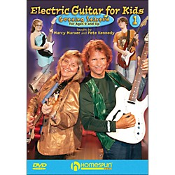Homespun Electric Guitar For Kids, DVD One (642049)