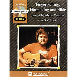 Homespun Fingerpicking, Flatpicking and Slide (Book/CD) (641467)