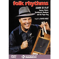 Homespun Folk Rhythms: Learn To Play Spoons, Bones, Washboard, Hambone and the Paper Bag (DVD) (641714)