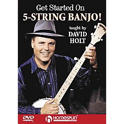 Homespun Get Started on 5-String Banjo! (DVD) (641648)