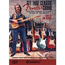 Homespun Get That Classic Fender Sound DVD (641619)