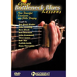 Homespun Great Bottleneck Blues Guitar Lessons (DVD) (642091)