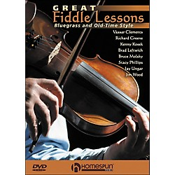 Homespun Great Fiddle Lessons: Bluegrass And Old-Time Styles DVD (642120)