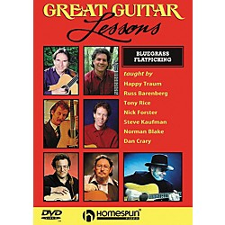 Homespun Great Guitar Lessons - Bluegrass Flatpicking (DVD) (641990)