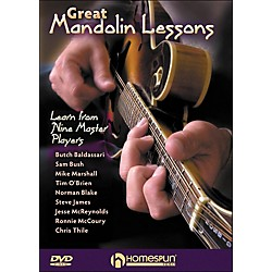 Homespun Great Mandolin Lessons: learn From Nine Master Players DVD (642104)