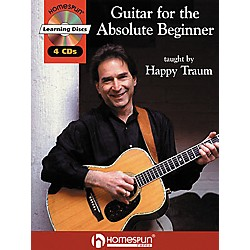 Homespun Guitar for the Absolute Beginner (Book/CD) (320169)