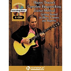 Homespun Happy Traum's Fingerpicking Method CD Set (641708)
