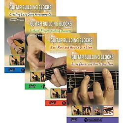Homespun Happy Traum's Guitar Complete Guitar Building Blocks Series (Book and 4-DVD Set) (641831)