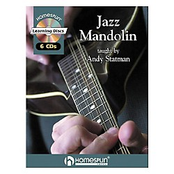Homespun Jazz Mandolin (Book/CD) (641582)