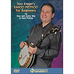 Homespun Jens Kruger's Banjo Method For Beginners DVD (642113)