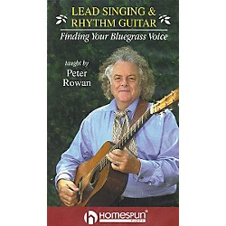 Homespun Lead Singing and Rhythm Guitar - Finding Your Bluegrass Voice (VHS) (641597)