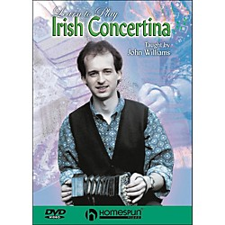 Homespun Learn To Play Irish Concertina (DVD) (641815)