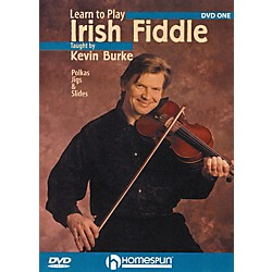 Homespun Learn To Play Irish Fiddle Lesson One (DVD) (641755)