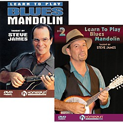 Homespun Learn to Play Blues Mandolin (2 DVDs) (642068)