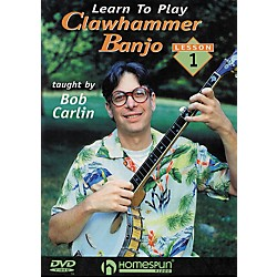 Homespun Learn to Play Clawhammer Banjo 1: The Basics (DVD) (641735)
