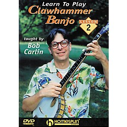 Homespun Learn to Play Clawhammer Banjo Lesson 2: Intermediate (DVD) (641736)
