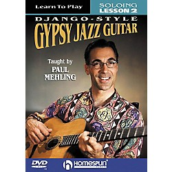 Homespun Learn to Play Django-Style Gypsy Jazz Guitar 2 (DVD) (641706)