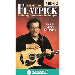 Homespun Learning to Flatpick 2 (VHS) (641042)