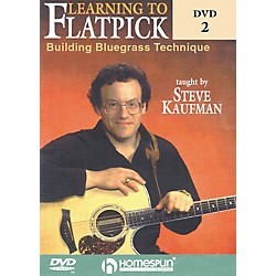 Homespun Learning to Flatpick DVD 2 - Building Bluegrass Technique (DVD) (642046)