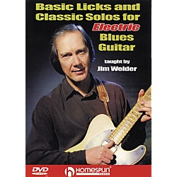 Homespun Licks and Solos for Electric Blues Guitar (DVD) (641782)
