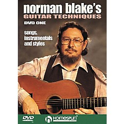 Homespun Norman Blake's Guitar Techniques 1 (DVD) (641604)