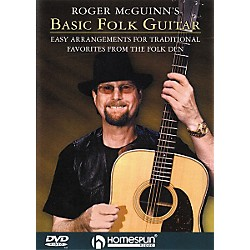 Homespun Roger McGuinn's Basic Folk Guitar (DVD) (641572)