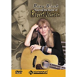 Homespun Rory Block Teaches The Guitar of Robert Johnson DVD (641810)