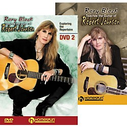 Homespun Rory Block Teaches the Guitar of Robert Johnson (2-DVD Set) (642022)