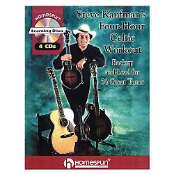 Homespun Steve Kaufman's Four-Hour Celtic Workout (Book/CD) (641537)