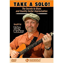 Homespun Take A Solo!  The Secrets To Blues And Country Guitar Improvisation DVD (129230)