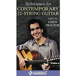 Homespun Techniques for Contemporary 12-String Guitar (VHS) (641588)