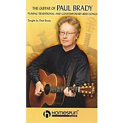 Homespun The Guitar of Paul Brady - Playing Traditional and Contemporary Irish Songs (VHS) (641632)