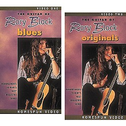 Homespun The Guitar of Rory Block 2-Video Set (VHS) (641277)