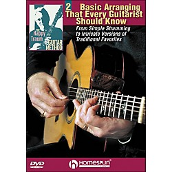 Homespun The Happy Traum Guitar Method: Basic Arranging Techniques DVD 2 (642125)