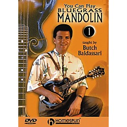 Homespun You Can Play Bluegrass Mandolin 1 (DVD) (641635)