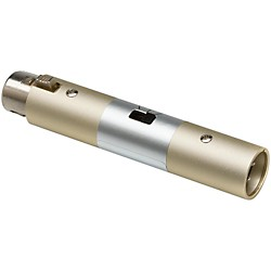 Hosa XLR Female to XLR Male Input Attenuator (ATT448)