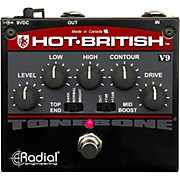 Radial Engineering Hot-British V9 High Gain Plexi-Style Distortion Pedal