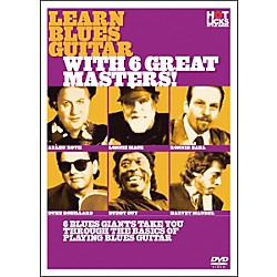 Hot Licks Learn Blues Guitar with 6 Great Masters DVD (14018759)