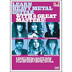 Hot Licks Learn Heavy Metal Guitar with 6 Great Masters DVD (14019524)