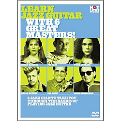 Hot Licks Learn Jazz Guitar With 6 Great Masters DVD (14019525)