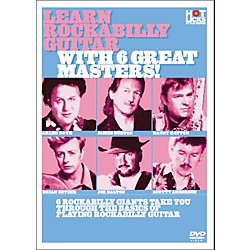Hot Licks Learn Rockabilly Guitar with 6 Great Masters DVD (14019526)