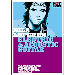 Hot Licks Nils Lofgren: Electric and Acoustic Guitar DVD (14023012)