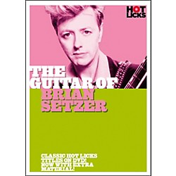 Hot Licks The Guitar of Brian Setzer (DVD) (14013517)