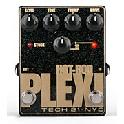 Tech 21 Hot-Rod Plexi Analog Distortion Guitar Effects Pedal