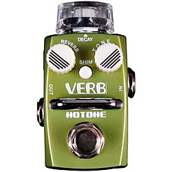 Hotone Effects Verb Digital Reverb Skyline Series Guitar Effects Pedal (TPSRV1)