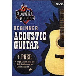 House of Blues Beginner Acoustic Guitar (DVD) (14027224)