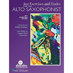 Houston Publishing Jazz Exercises and Etudes for the Alto Saxophone (30457)